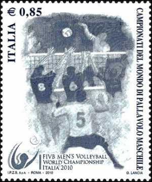 «Lo sport italiano» - Campionati del Mondo di Pallavolo Maschile