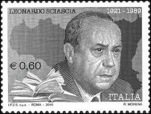 Omaggio a Leonardo Sciascia - ritratto dello scrittore