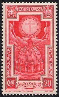 1933 - Anno Santo 1933-34 - Cupola di san Pietro