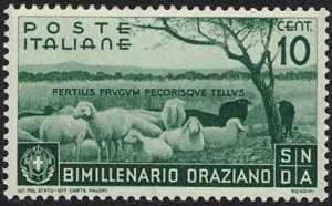 1936 - Bimillenario della nascita di Orazio