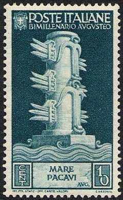 1937 - Bimillenario della nascita di Augusto - Pacificazione dei mari