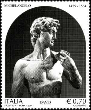 Patrimonio artistico e culturale italiano : 450° Anniversario della morte di Michelangelo