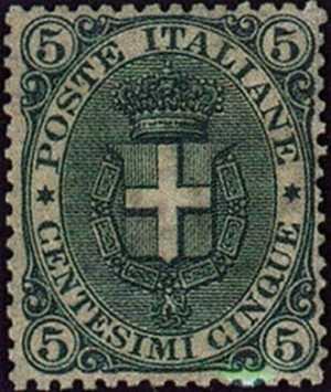 1891 - Stemma sabaudo