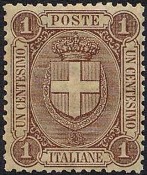 1896 - Stemma sabaudo