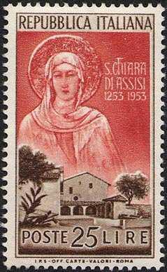 La Santa ed il Convento di San Damiano