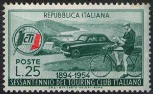 60° Anniversario del Touring Club Italiano - L. 25