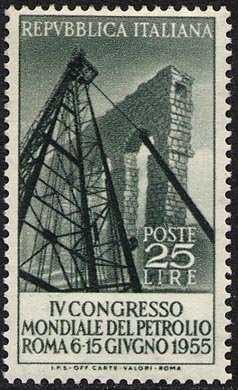 IV Congresso mondiale del petrolio - Roma - L. 25