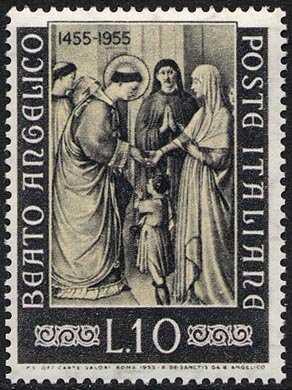 5° Centenario della morte del Beato Angelico - affresco : S. Stefano