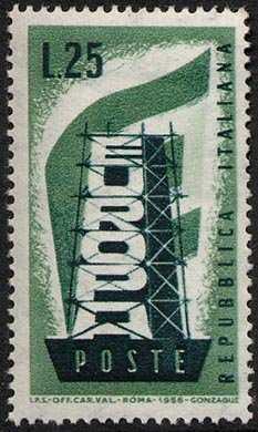 Europa - 1a serie - L. 25