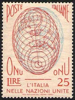 Ammissione dell'Italia all'O.N.U. - L. 25