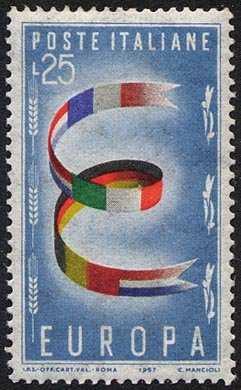Europa 2a serie - L. 25