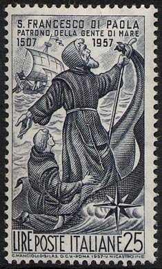 450° Anniversario della morte di San Francesco di Paola - L. 25