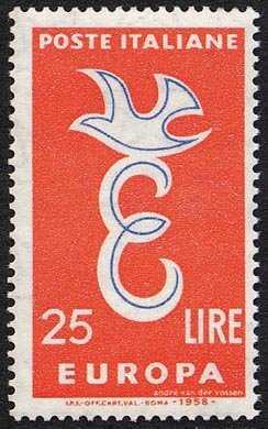Europa 3a serie - L. 25