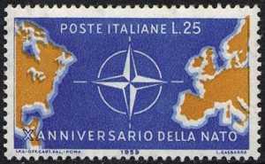 Decennale della NATO - L. 25