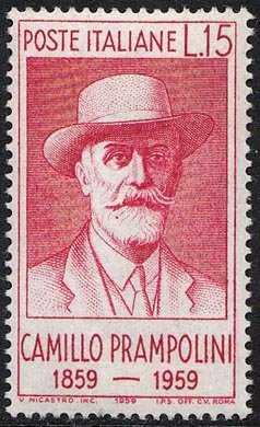 Centenario della nascita di Camillo Prampolini - ritratto