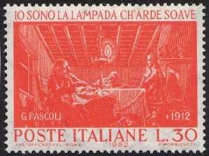 Cinquantenario della morte di Giovanni Pascoli - L. 30