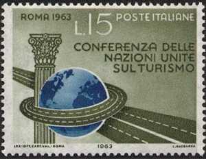 Conferenza delle Nazioni Unite sul Turismo - Roma - L. 15