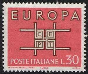 Europa - 8ª serie - L. 30
