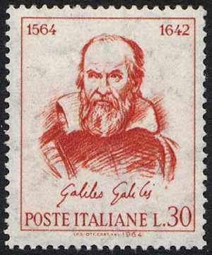 4° Centenario della nascita di Galileo Galilei - ritratto di Guido Reni