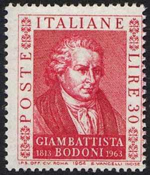 150° Anniversario della morte di Giambattista Bodoni  - ritratto di Appiani