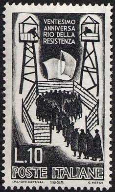 XX Anniversario della Resistenza - internati nei campi di concentramento