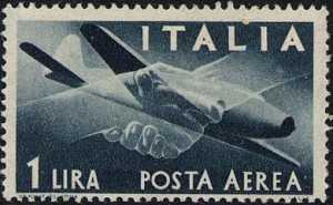 Posta aerea - Serie ordinaria «Democratica »