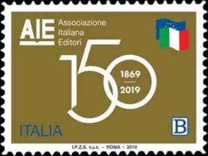 AIE : Associazione  Italiana Editori  -  150° Anniversario della costituzione