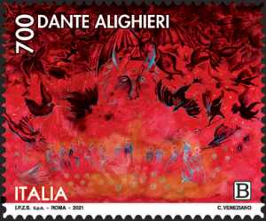Dante Alighieri - VII Centenario della scomparsa - Inferno
