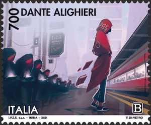 Dante Alighieri - VII Centenario della scomparsa - Purgatorio
