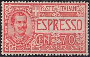 1925 - Espressi - tipi del 1903 e 1908 - nuovi valori