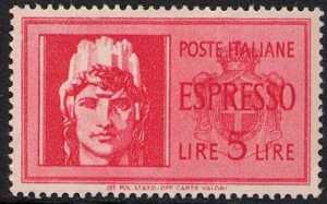 1945 - Luogotenenza - Espresso -«Italia Turrita»