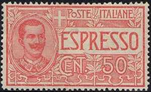 1920 - Espresso - tipo del 1903  Floreale - nuovo valore