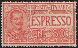 1922 - Espressi - tipi del 1903-08 - nuovi valori