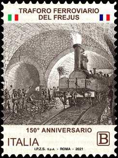 Traforo ferroviario del Frejus - 150° Anniversario dell'inaugurazione