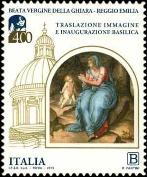Immagine della Beata Vergine della Ghiara - IV Centenario della traslazione e dell'inaugurazione della Basilica