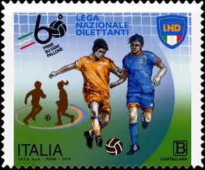Lo Sport : Lega Nazionale Dilettanti - 60° Anniversario della istituzione