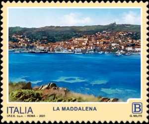 Turistica  47ª serie  - Patrimonio naturale e paesaggistico : La Maddalena  (SS)