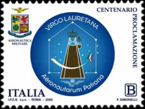 Madonna di Loreto - Patrona degli aviatori - Centenario della proclamazione