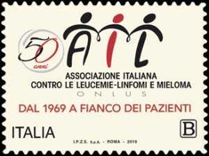 Assistenza ai malati - AIL : Associazione Italiana contro le Leucemie - 50° Anniversario della fondazione