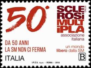 A.I.S.M. - Associazione Italiana Sclerosi Multipla - Cinquantenario della fondazione