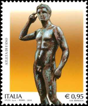 Patrimonio artistico e culturale italiano : Atleta di Fano