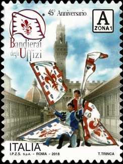 Bandierai degli Uffizi - Firenze - 45° Anniversario della fondazione