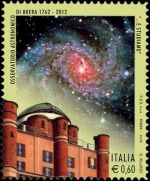 250° Anniversario della fondazione dell'Osservatorio Astronomico di Brera in Milano