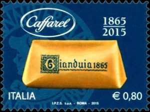 """"""" Le eccellenze del sistema produttivo ed economico """" - Gianduiotto Caffarel - 150° anniversario della produzione"""