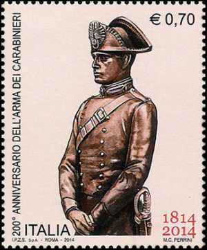 Il senso civico - Bicentenario della istituzione dell'Arma dei Carabinieri