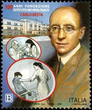 Fondazione  I.R.C.C.S. - Istituto Neurologico  Carlo Besta di Milano - Centenario della fondazione