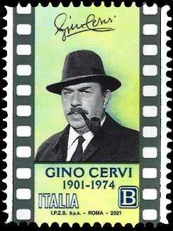 2021 - Le Eccellenze italiane dello spettacolo   - Gino Cervi : 120° anniversario della nascita - Vittorio De Sica : 120° Anniversario della nascita