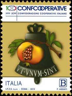 Il senso civico : Confcooperative : Confederazione Cooperative Italiane - Centenario della istituzione