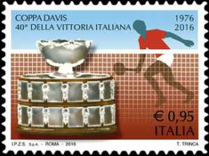 Coppa Davis - 40° Anniversario della vittoria dell'Italia