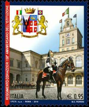 Il senso civico  -  150° Anniversario della istituzione del Reggimento dei Corazzieri